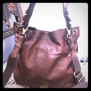 Fossil Crossbody Leather Bag